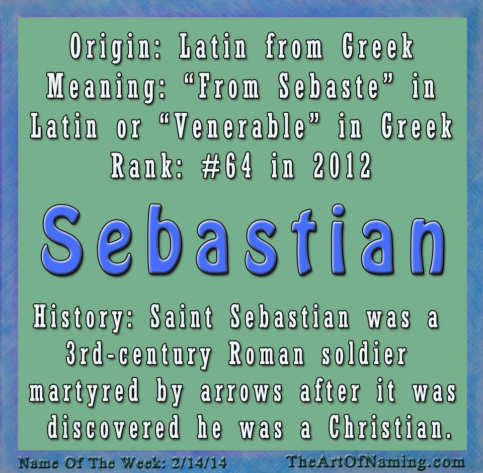 Italian Boy Name: The Art Of Naming: Sebastian