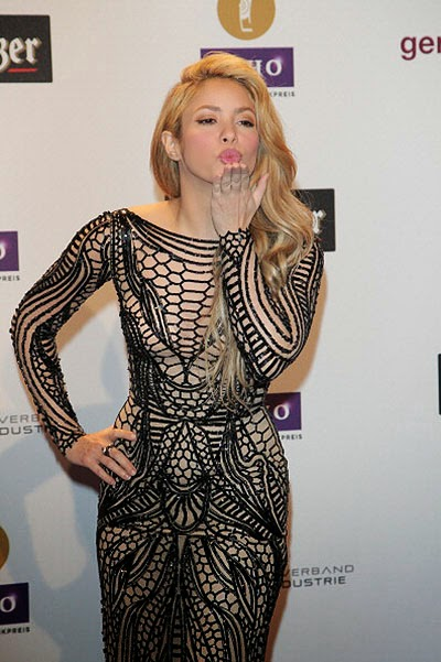 Shakira at Echo Awards 2014 ceremony