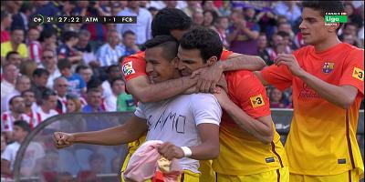 LFP-Week-35 : Atletico Madrid 1 vs 2 Barcelona 12-05-2013