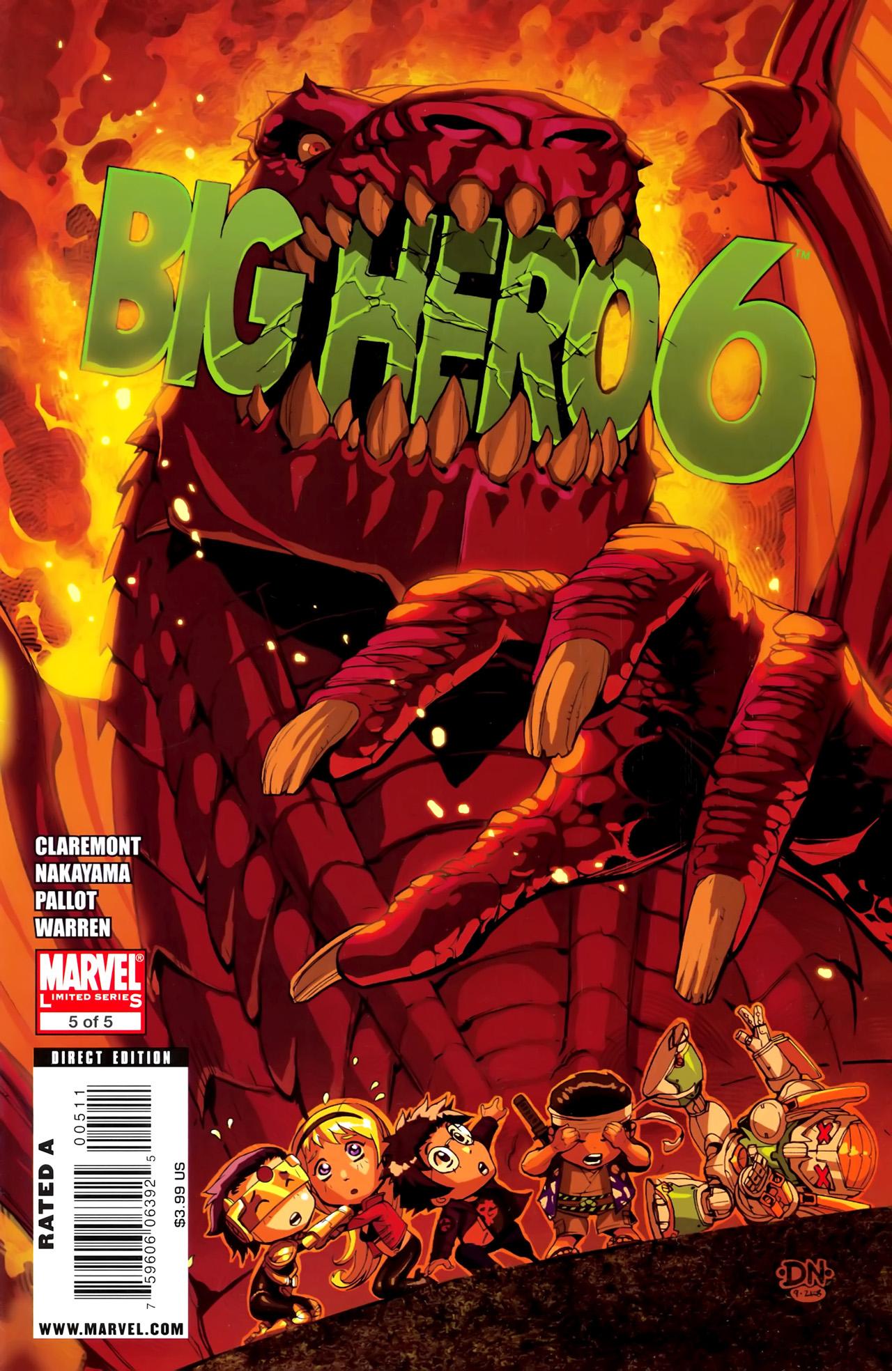 Big Hero 6 (2008) 5 Page 1