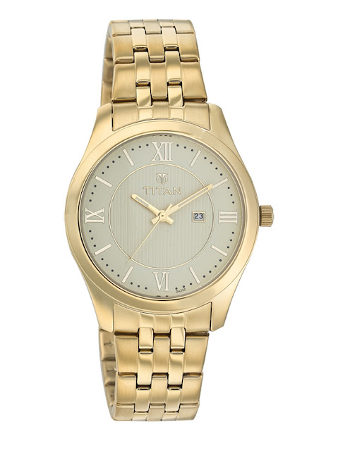 Đồng hồ nam dây sắt Titan đáng mua nhất 2016