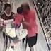 Vídeo mostra mãe impedindo que homem sequestre filha em supermercado