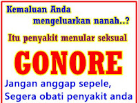 Obat Tetes Mata Gonore (Kemaluan Bernanah)
