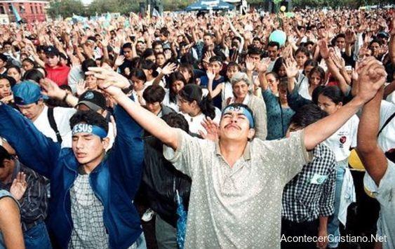 Crecimiento de evangélicos en América Latina