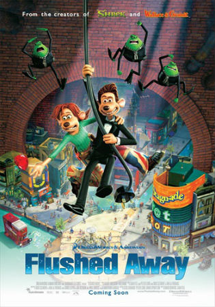 Flushed Away 2006 HDTV 270Mb Hindi Dual Audio 480p Watch Online Full Movie Download bolly4u