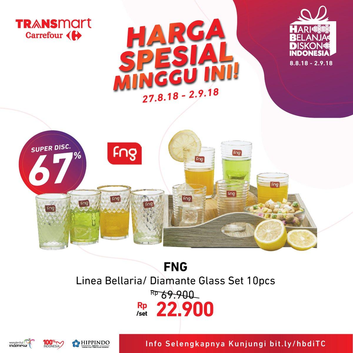 Carrefour - HARI BELANJA DISKON INDONESIA (27 - 2 Sept 2018)