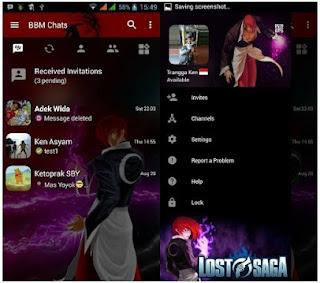 BBM Mod Lost Saga V3.0.1.25 Apk