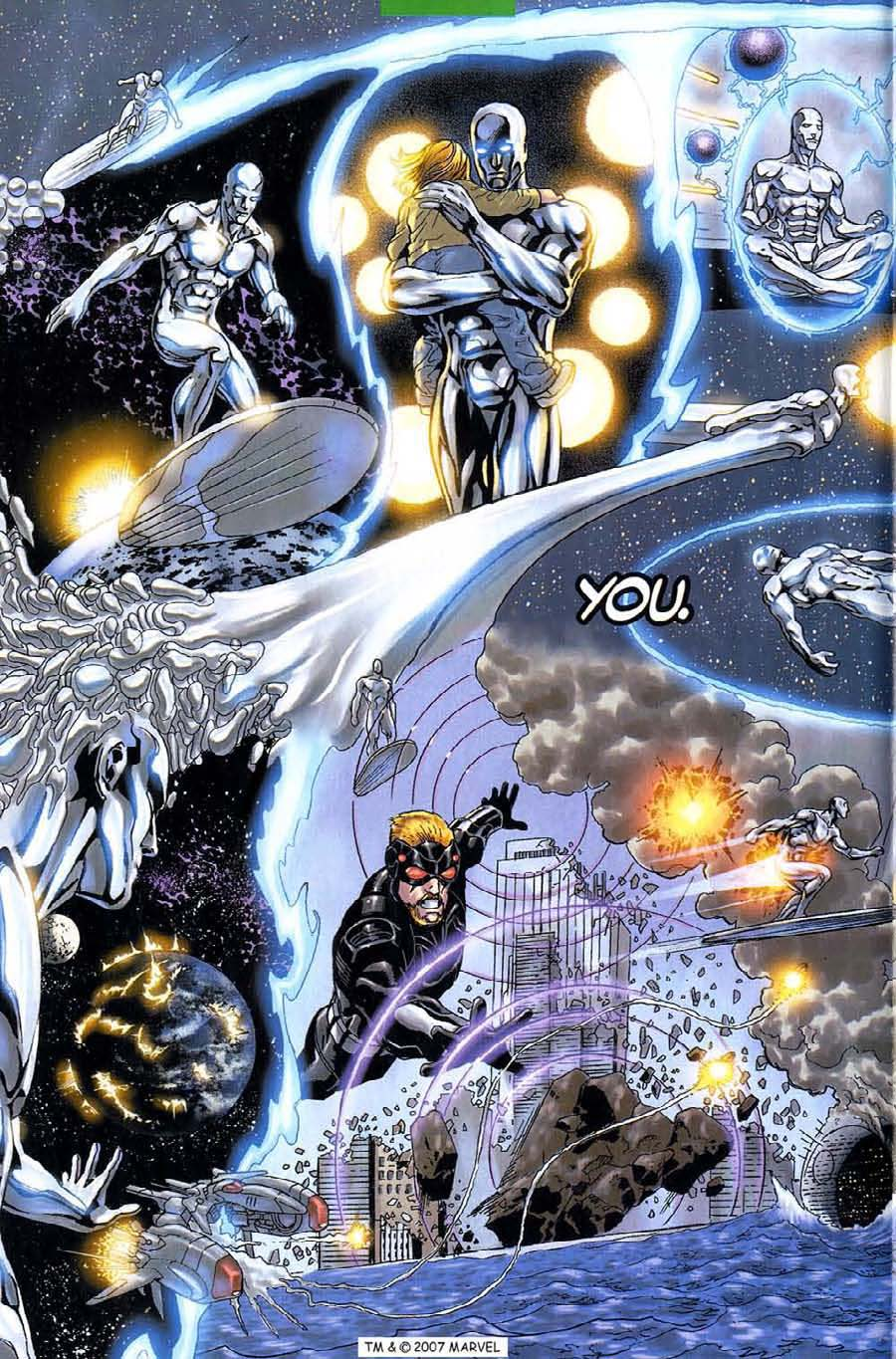 Read online Silver Surfer (2003) comic -  Issue #6 - 6