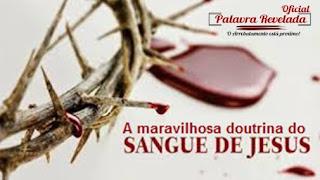 A MARAVILHOSA DOUTRINA DO SANGUE DE JESUS