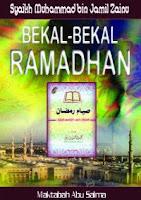 buku bekal ramadhan syaikh muhammad zainu