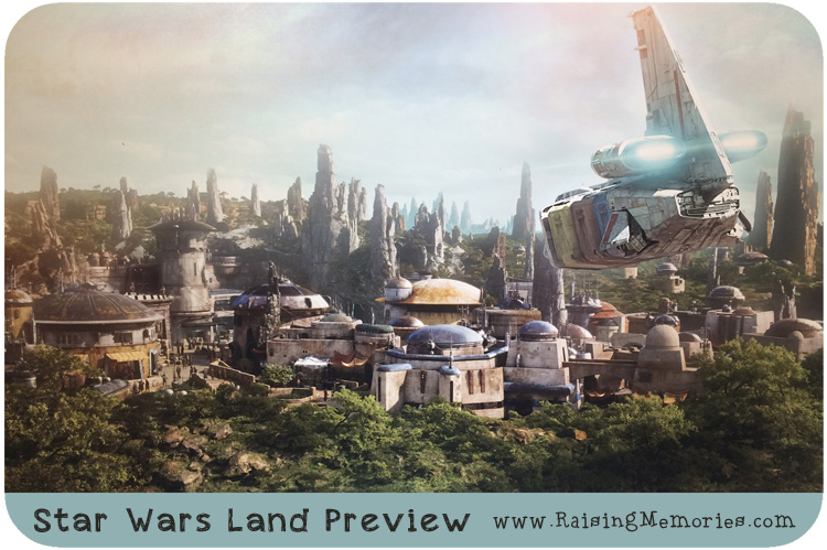 Star Wars Land preview Disney World