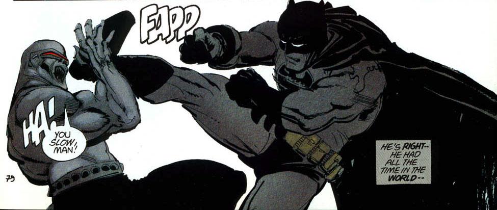 mutantleader13 Batman: The Dark Knight Returns vs Wolverine: Mini Series