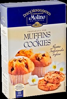 Il Mondo Di Nana Muffin Alle Gocce Di Cioccolato Con Molino