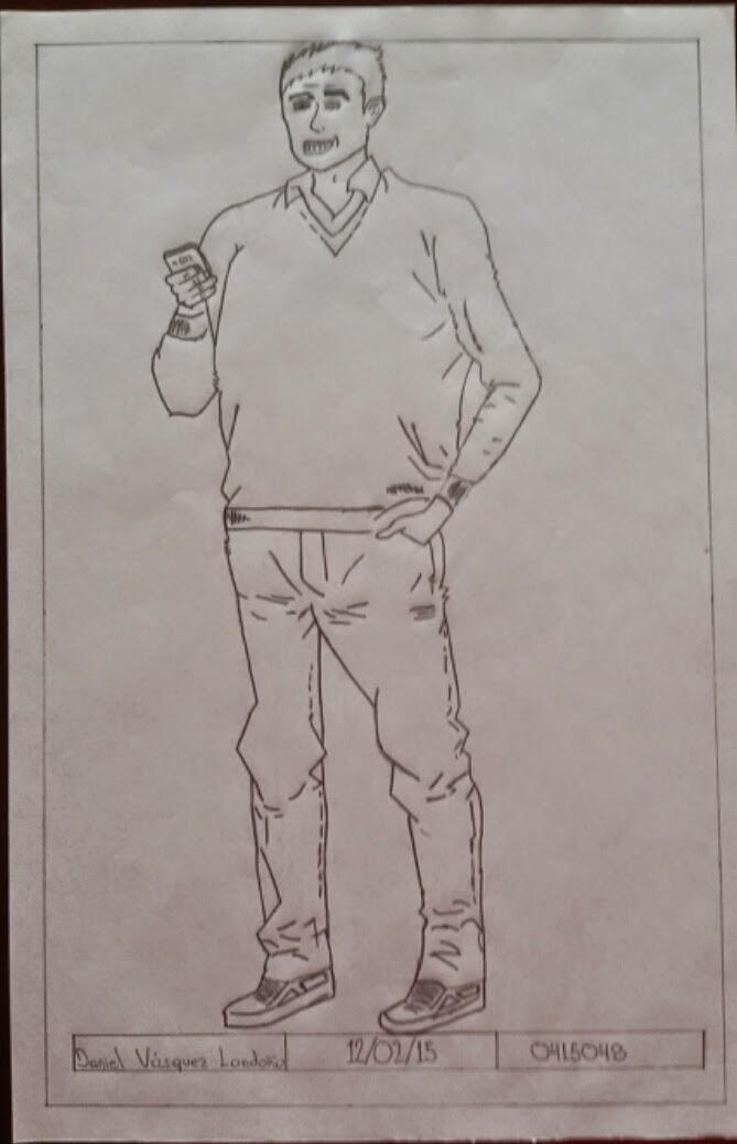 Expresando Con El Dibujo 2015 3 Dibujo Persona Cuerpo Completo