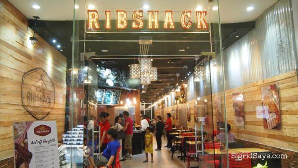 Ribshack Grill - Bacolod restaurants