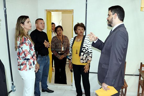 TJMA: Corregedora Anildes Cruz visita Comarca de Chapadinha
