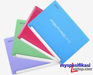 Harga Acer Aspire One Happy N57C beserta Spesifikasinya