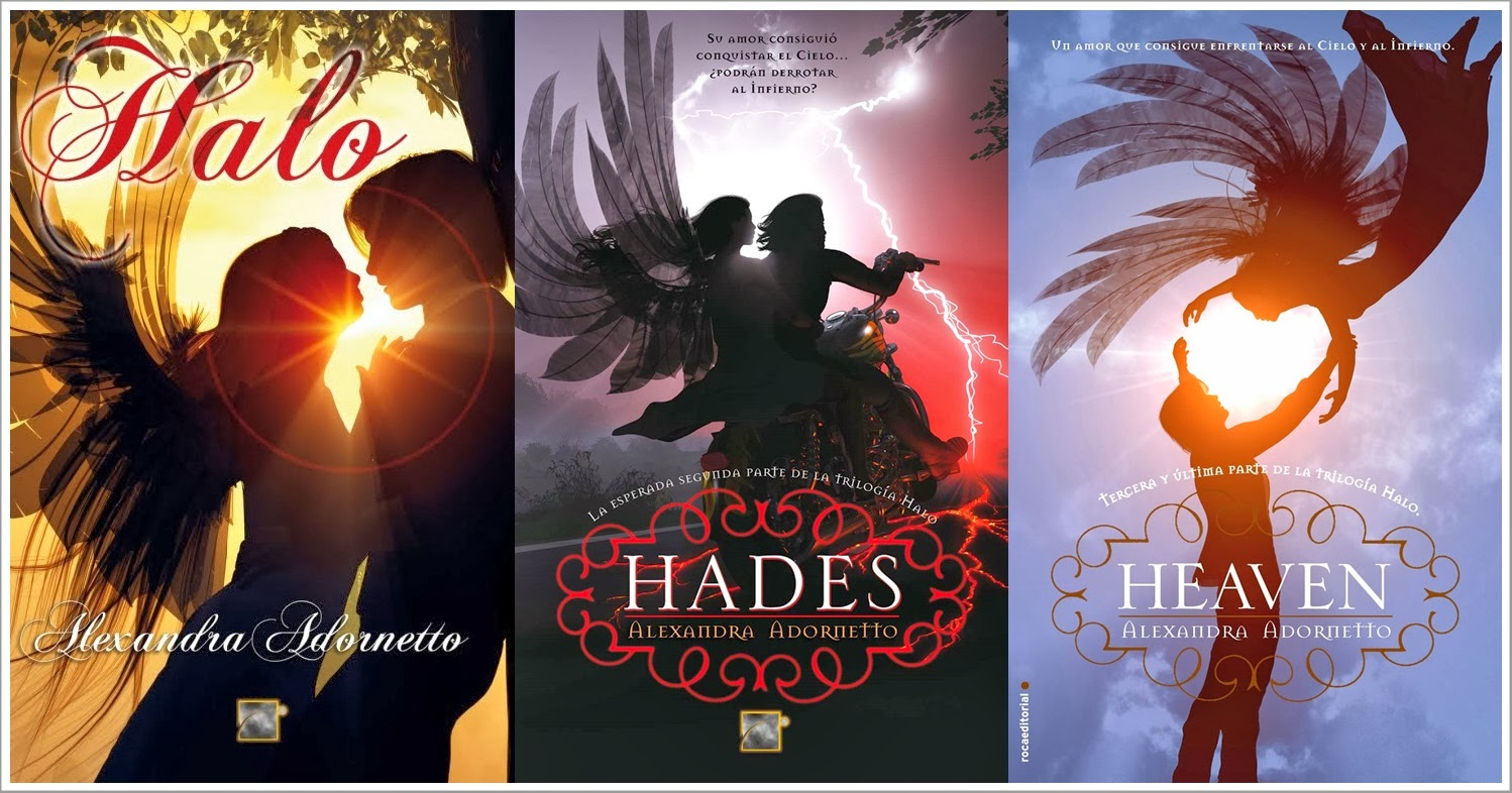 Libros Halo Dreamy Day And Night Trilogía Halo De Alexandra Adornetto