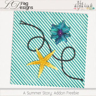 Creative Team for LDrag Designs -  A Summer Story  and Coordinating Freebie