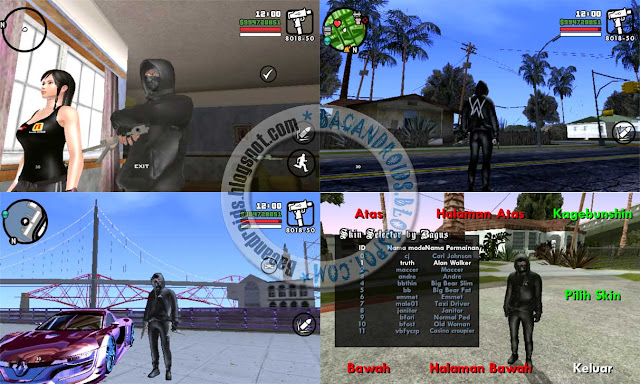 Link Download Game GTA San Andreas Lite Mod Alan Walker Cleo + Audio Terbaru for Android Beserta Cara Install