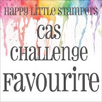 2 x Happy Little Stampers CAS Challenge Favourite