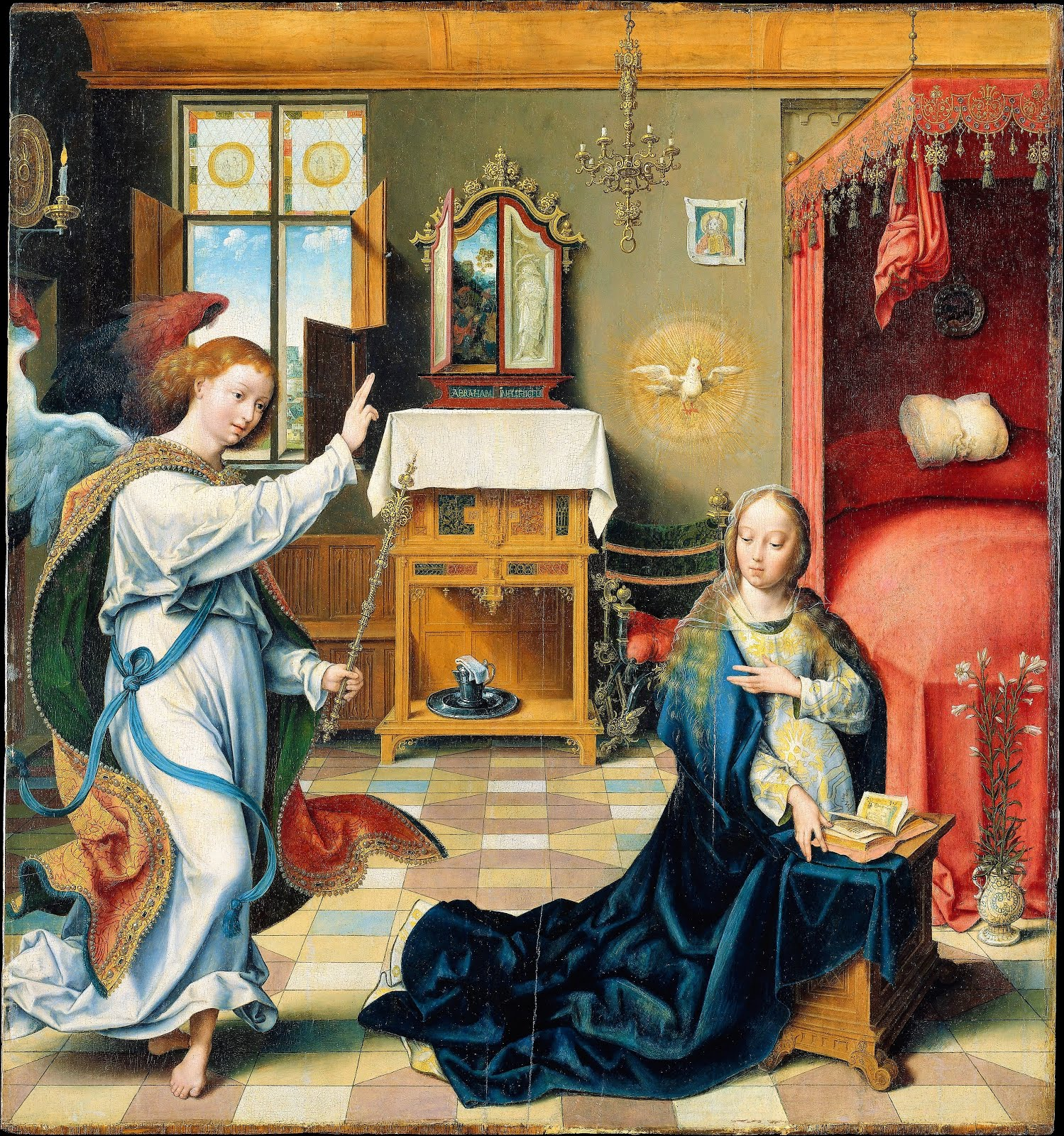The Annunciation, Part VIII, In the Bedroom