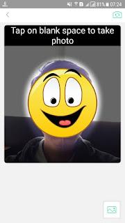 Proses Memindai Wajah AR Emoji