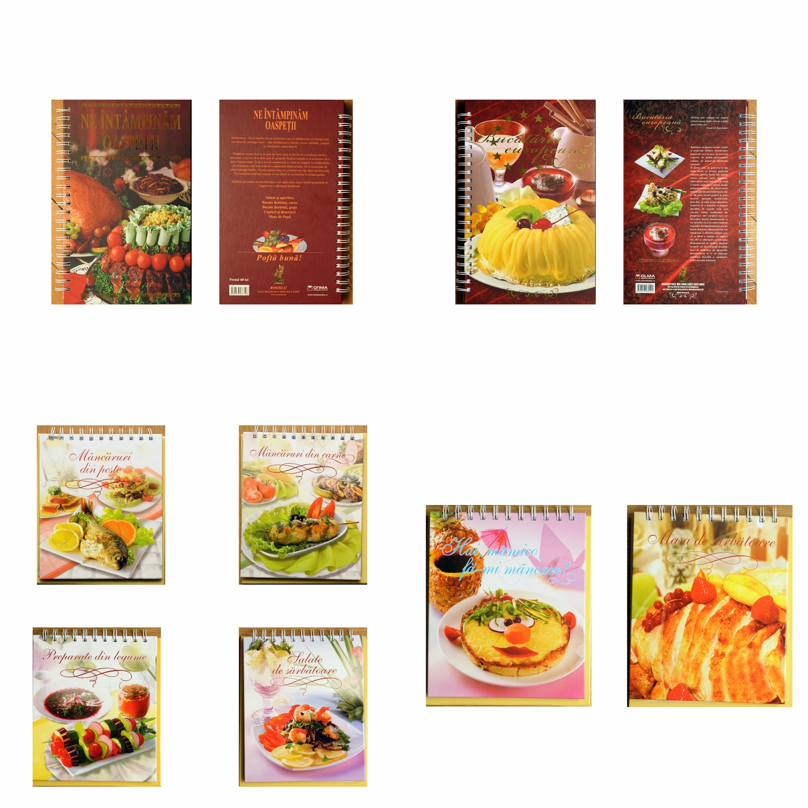 Editura Roossa - Carti de gastronomie