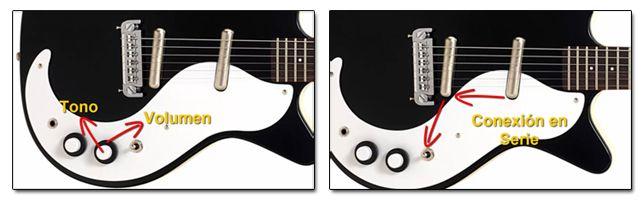 Controles de las Guitarras Danelectro