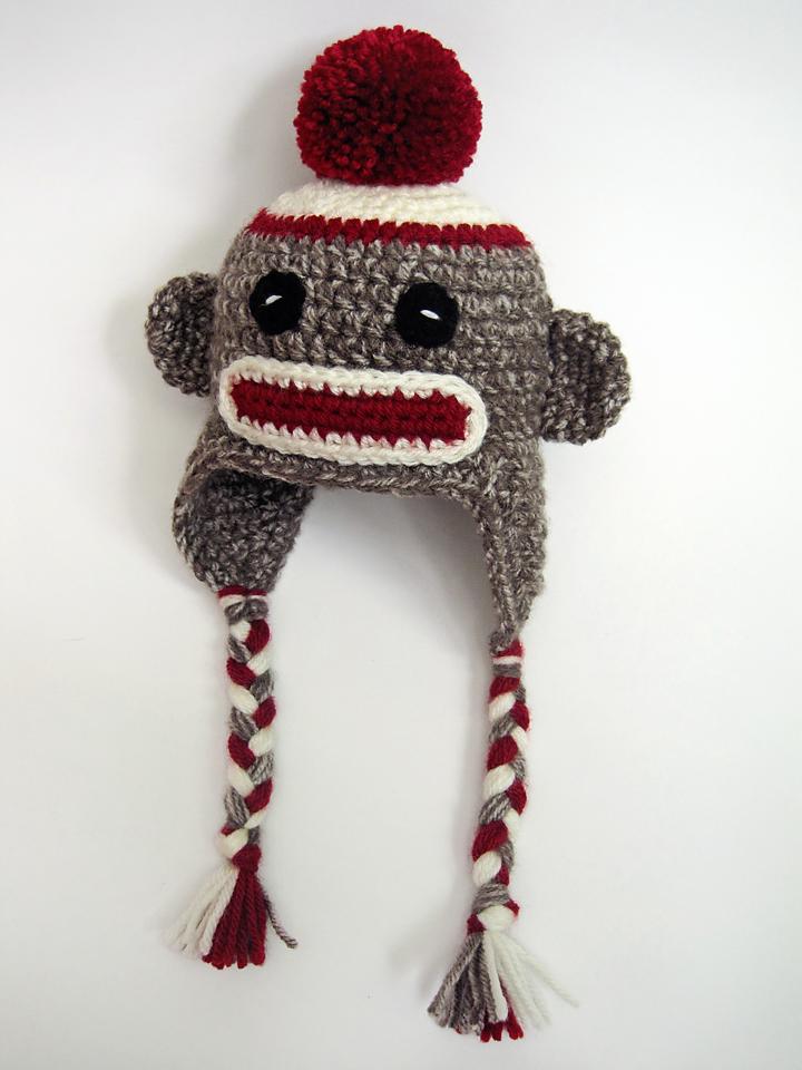 Seriously Daisies Sock Monkey Cuteness