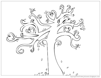 free fall coloring pages
