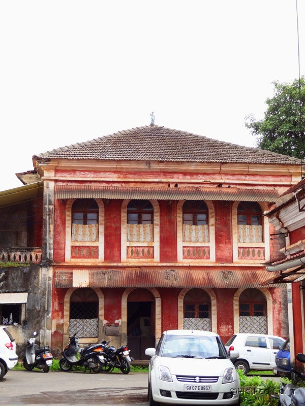 Fontainhas - the picturesque Latin quarter in Goa