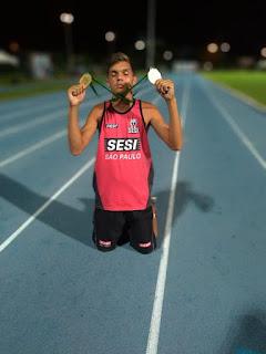 Atleta de Miracatu é Campeão Brasileiro Escolar de Atletismo