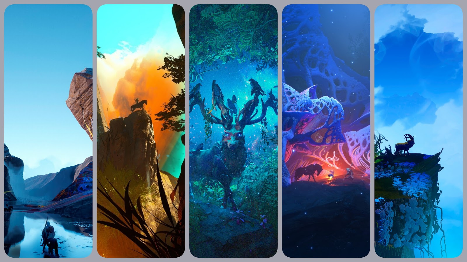 Phone wallpaper collection 211 - Fantasy Illustrations