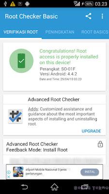Tutorial Terlengkap Root dan pasang  CWM TWRP Sony Xperia Z1 SO-01f Docomo Menggunakan Kingo Root Sampai Sukses