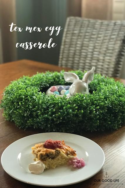 tex mex egg casserole