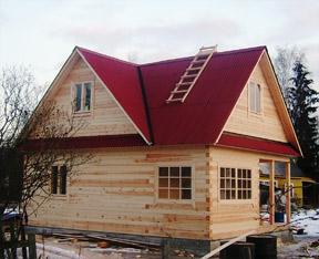 Малоэтажное строительство (Дома, Бани)