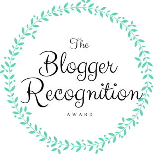 TAG, the blogger recognition award