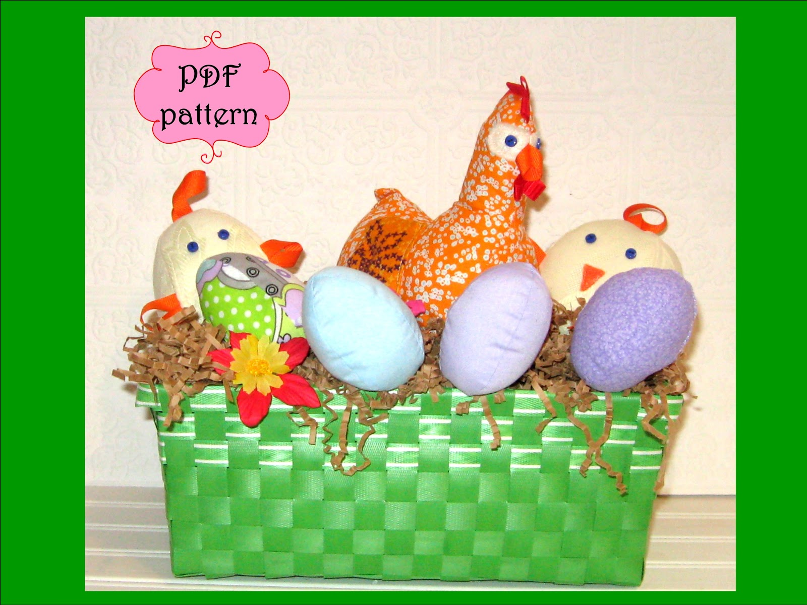 easter chick pattern - photo #39