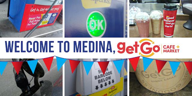 Welcome to Medina, Giant Eagle GetGo Cafe + Market!