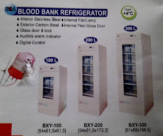 blood bank refrigerator murah