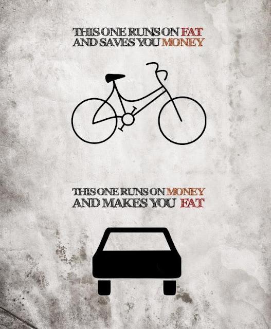 велосипед и автомобиль