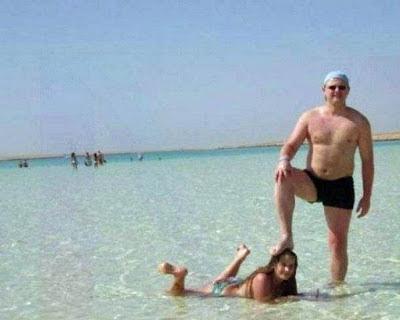 Familien im Urlaub