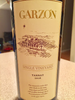 2016 Bodega Garzon Single Vineyard Tannat