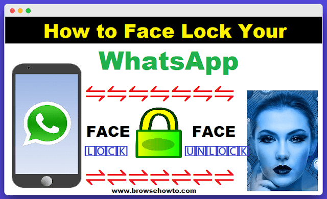 How to set up Face ID Lock on WhatsApp in any Smartphone