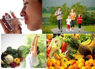 cara hidup sihat