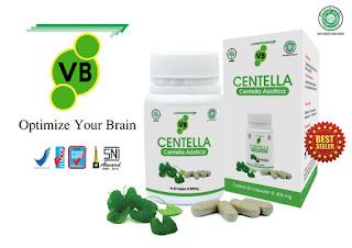 Suplemen otak untuk anak sekolah vitabrain VB centella terbaik asli original