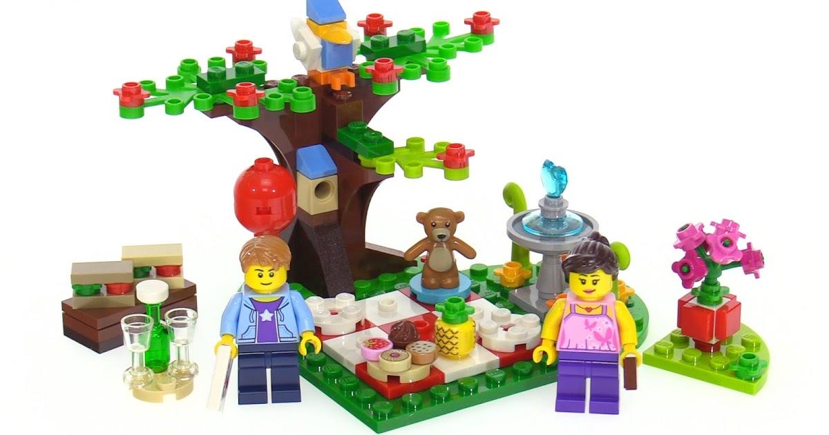LEGO 2017 Romantic Valentine Picnic Set Review