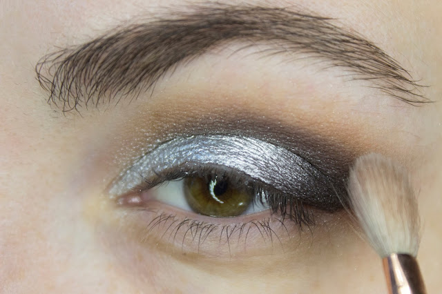 New year make-up 2018, step 4: blending