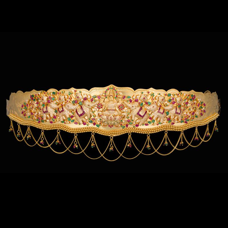 Indian Jewellery And Clothing Vaddanam Waist Belt Kamar
